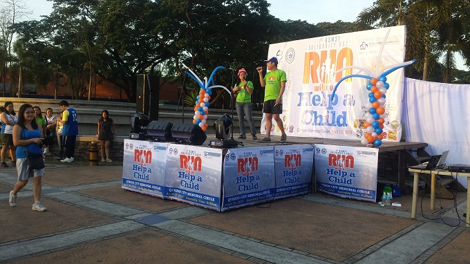 Run Help a Child マニラのマラソン大会