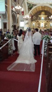 フィリピン結婚式 マラボン 花嫁