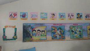 フィリピンの小学校の教室