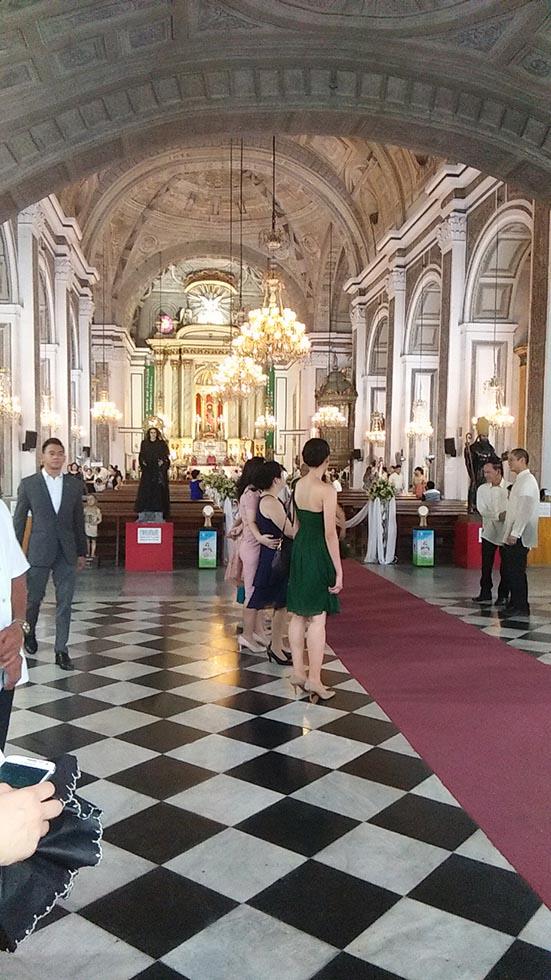 サンオウガスチン教会結婚式