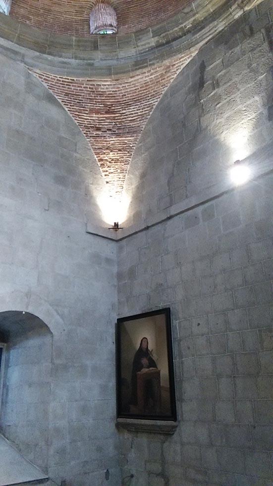 サンオウガスチン教会の天井