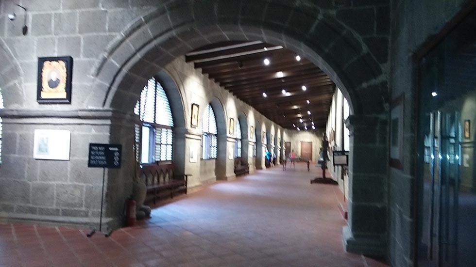 サンオウガスチン教会の美術館