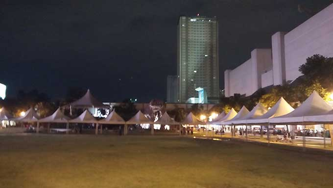 Greenfield Weekend Market Ortigas Center in Manila! Hotel recommendation