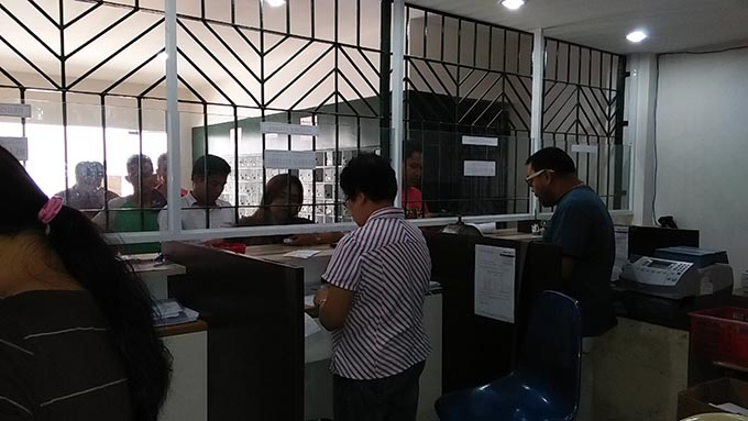 フィリピンでびっくりした日本との違い 郵便局