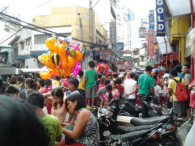 Binondoチャイナタウンー旧正月