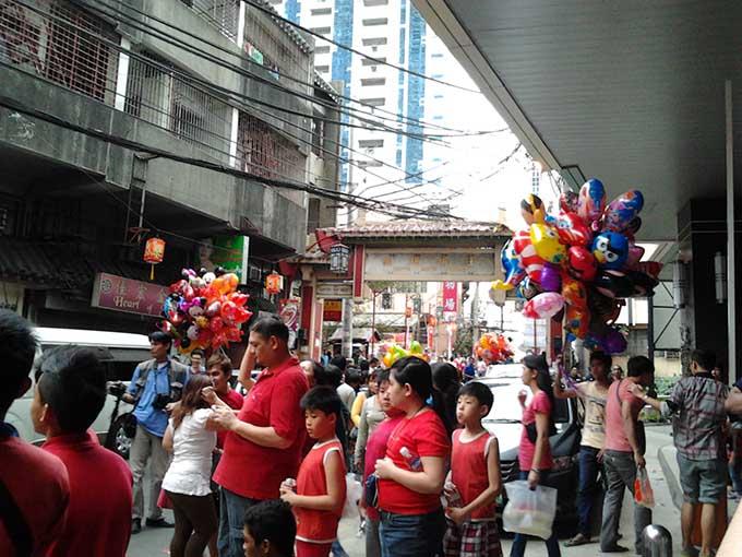 Binondoチャイナタウン -パレード