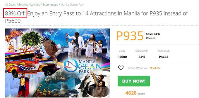 フィリピンでの滞在費を安くお得にする方法 83%オフプロモも