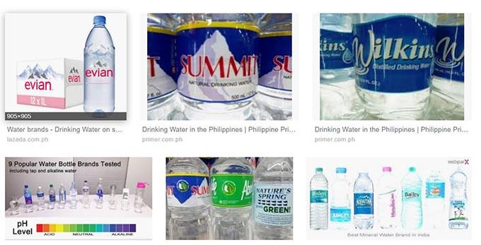フィリピンのペットボトル水事情