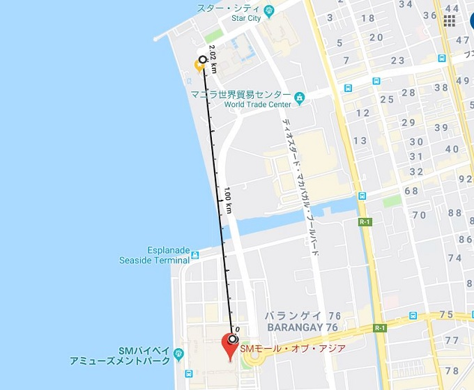 2泊3日 海外女子旅マニラ SMモール・オブ・アジア